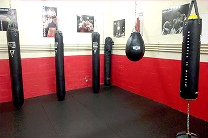 Boxing and Functional Training Area