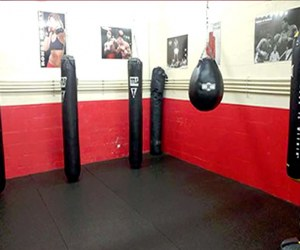 boxing fitness area
